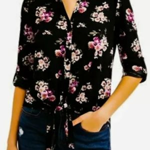 Brand new No Boundaries floral shirt